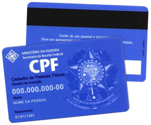 Receita Federal lança site para regularizar CPF pela internet